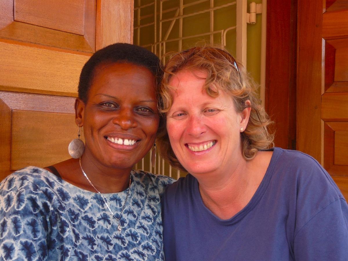 Wiedersehen mit rhona und den straßenkindern im juli 2013