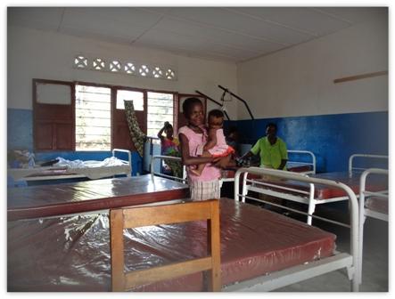 Famulatur im Kongo: Komfort sieht in Europa etwas anders aus.