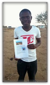 Schule in Namibia - Christian