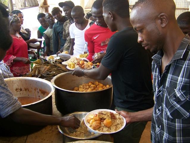 Weihnachten Uganda